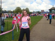 Finished the Race for Life