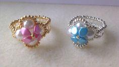 Hola amigos en el video de hoy voy hacer unos preciosos y faciles anillos de perlas y cuentas pinch en color pastel, espero os guste. Tienda online Perles & ...