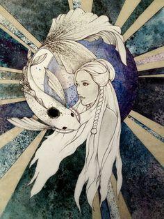 Moon Spirit by ~LaGelian on deviantART