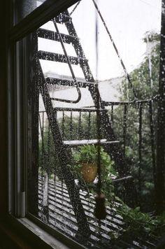 Spring Rain, New York City photo via amanda