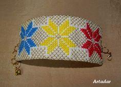 Artadar - atelier de creaţie: Brăţări brodate Bags, Blouse, Embroidery, Handbags, Blouses, Woman Shirt, Bag, Totes, Hoodie