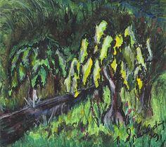 Wall Art Painting  impressionist Contemporary by NickySpauldingArt