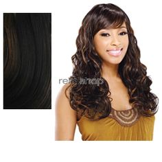 Equal (SNG) Wig Bella - Color P1B/30 - Synthetic (Curling Iron Safe) Regular Wig