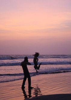 Capturing the beauty of dusk, Goa India