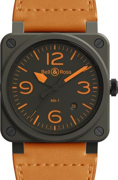 Ma 1 Jacket, Man Watches, Watch One, Bell Ross, Khaki Green, Military Green, Product Design, Cool Designs