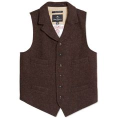 Nigel Cabourn Mallory Vest - Time for Tweed