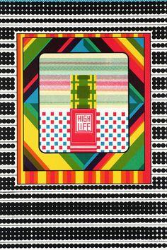 Sir Eduardo Paolozzi 'High Life', 1967 © The Eduardo Paolozzi Foundation Eduardo Paolozzi, Hamilton, Wessel, Design Art, Graphic Design, Design Styles, Pop Art Movement, Claes Oldenburg, Branding