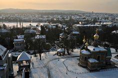 Winterliches Darmstadt