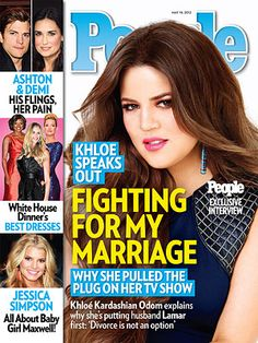 ON NEWSSTANDS 5/4/12: Khloé Kardashian: 'Divorce Is Not an Option' http://www.people.com/people/article/0,,20591901,00.html