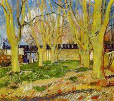 Vincent van Gogh, Le Train bleu, 1888. on ArtStack #vincent-van-gogh #art