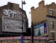 graffiti anti-ukip, September 2014