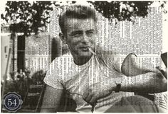 JAMES DEAN Dictionary Art Print Vintage by VintagePrint54 on Etsy