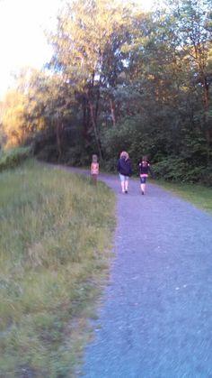 Grace n Ellie on Path
