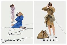 Preview Barbara Probst for Marni SS 2017 Campaign