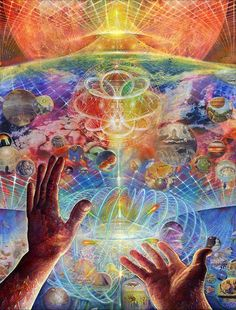 psychedelic universe makes me smile
