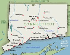 Connecticut - grew up in Coventry, birthplace of Nathan Hale