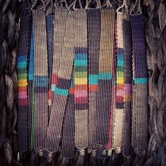 Colorful Handwoven Macrame Bracelet Rainbow by Yogamoodra on Etsy