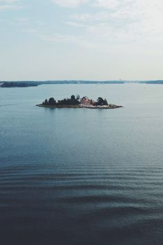 Island in the Gulf of Finland, Baltic Sea Helsinki, Finland. Photography by Evgeniya Righini-Brand
