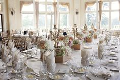 Irondequoit Country Club Reception Tablescape   Photography by Robin Fox Photography   Flowers by Stacy K Floral