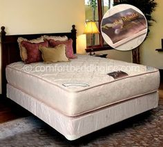 Ortho Master Tight Top Firm Double Sided Queen Mattress