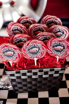 ideas cars birthday party favors for kids Disney Cars Party, Disney Cars Birthday, Race Car Birthday, Race Car Party, 3rd Birthday, Car Themed Parties, Cars Birthday Parties, Birthday Party Favors, Cars Party Favors