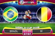 Bet98vn-Nhận định bóng đá Brazil vs Bỉ, World Cup 2018