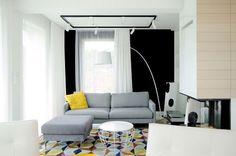 Calido minimalismo - zona estar sofa