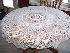 Free Round Tablecloth Patterns | Crochet Pattern Round ...