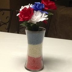 4th of July centerpiece!!