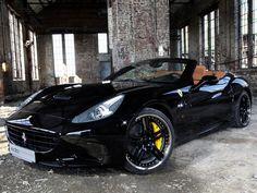 Cool Black Ferrari California... via carhoots.com - LGMSports.com Ferrari Spider, Ferrari Car, Ferrari 2017, Lamborghini, Ferrari F430, Diesel, Ferrari California T, Sexy Cars, Fast Cars