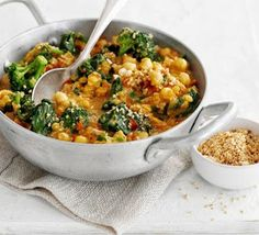 Chickpea, tomato + spinach curry   All Food + Drink Recipes
