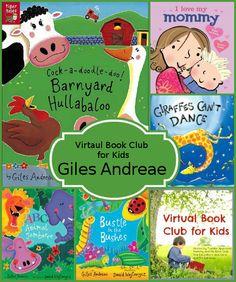 July Virtual Book Club: Giles Andreae - 3Dinosaurs.com