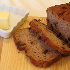 Raisin Nut Bread  (Gluten-Free Recipe)