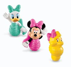 Fisher-Price Disney's Minnie and Friends Bath Squirters. My grandkids love these. Not only in the bath but in the pool.