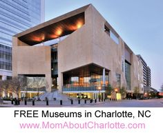 FREE entry to Museums in Charlotte, NC. Find out more at www ...