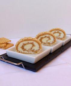 Rulada cu biscuiti – La Ancuta Biscuit, Caramel, Sticky Toffee, Candy, Crackers, Biscuits, Fudge, Sponge Cake, Cake