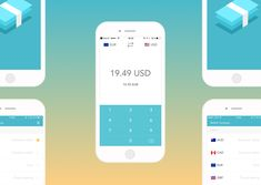 Fast and easy to use currency converter app for iPhone