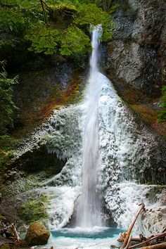 Marymere Falls, Olympic National Park, Washington www.facebook.com/loveswish
