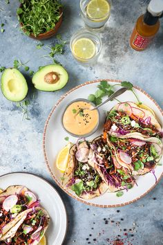 Crispy thai tofu Taco with avocado cream |foodfashionparty| #thaitofu #tofurecipe