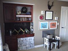 Love this little boy room!