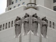 "The ""Angels"" of Park Plaza Hotel, Los Angeles, Ca"