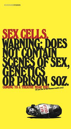 SEX CELLS, Warning, Creative; Dave Dye
