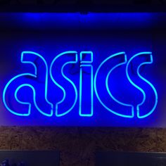 Asics neon sign by Neondesigns Asics, Neon Signs