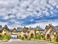 """SALT LAKE COUNTY, Utah -- The median home price in Salt Lake County is currently about $270,000.  But a single home on a Draper hillside has an asking price of $10.4 million, and real estate agent Alexander Monroe of Engel and Volkers says it's worth every penny.  The so-called """"Draper Castle"""" is, after all, a local icon."""