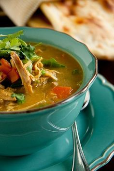 Simply Delicious: Chicken Curry Soup