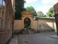 Entrance to park. Södermalm, Stockholm