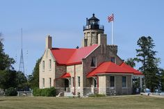 Old Mackinaw Point Light
