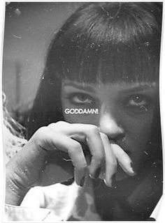 mia wallace Posters