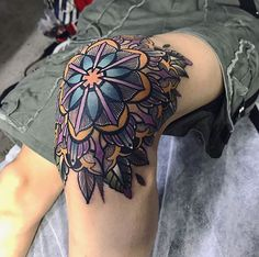 above the knee tattoos women ; above knee tattoos women ; around the knee tattoos women ; knee tattoos for women Elbow Tattoos, Knee Tattoo, Old Tattoos, Time Tattoos, Body Art Tattoos, Small Tattoos, Sleeve Tattoos, Tattoos For Guys, Tattoos For Women