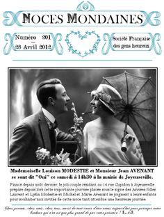 Mariages Rétro: Créations téléchargeables